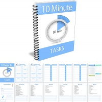 10 Minute Tasks Editable PDF