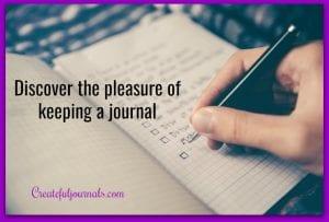 pleasure of a journal