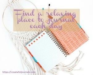 do you journal