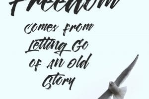 freedom and slowing down
