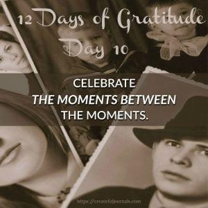 Gratitude moments