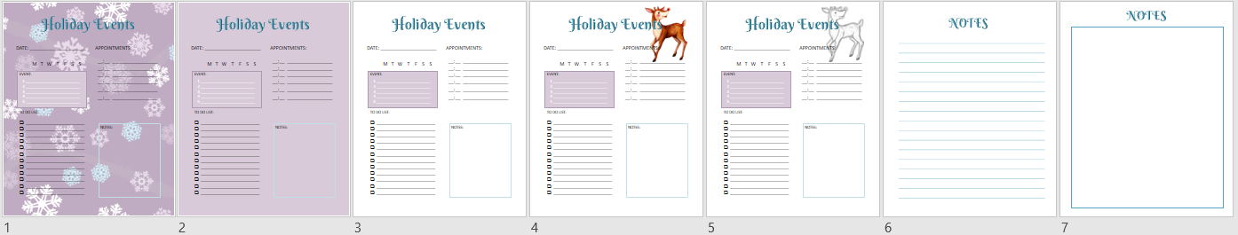 holiday event planner