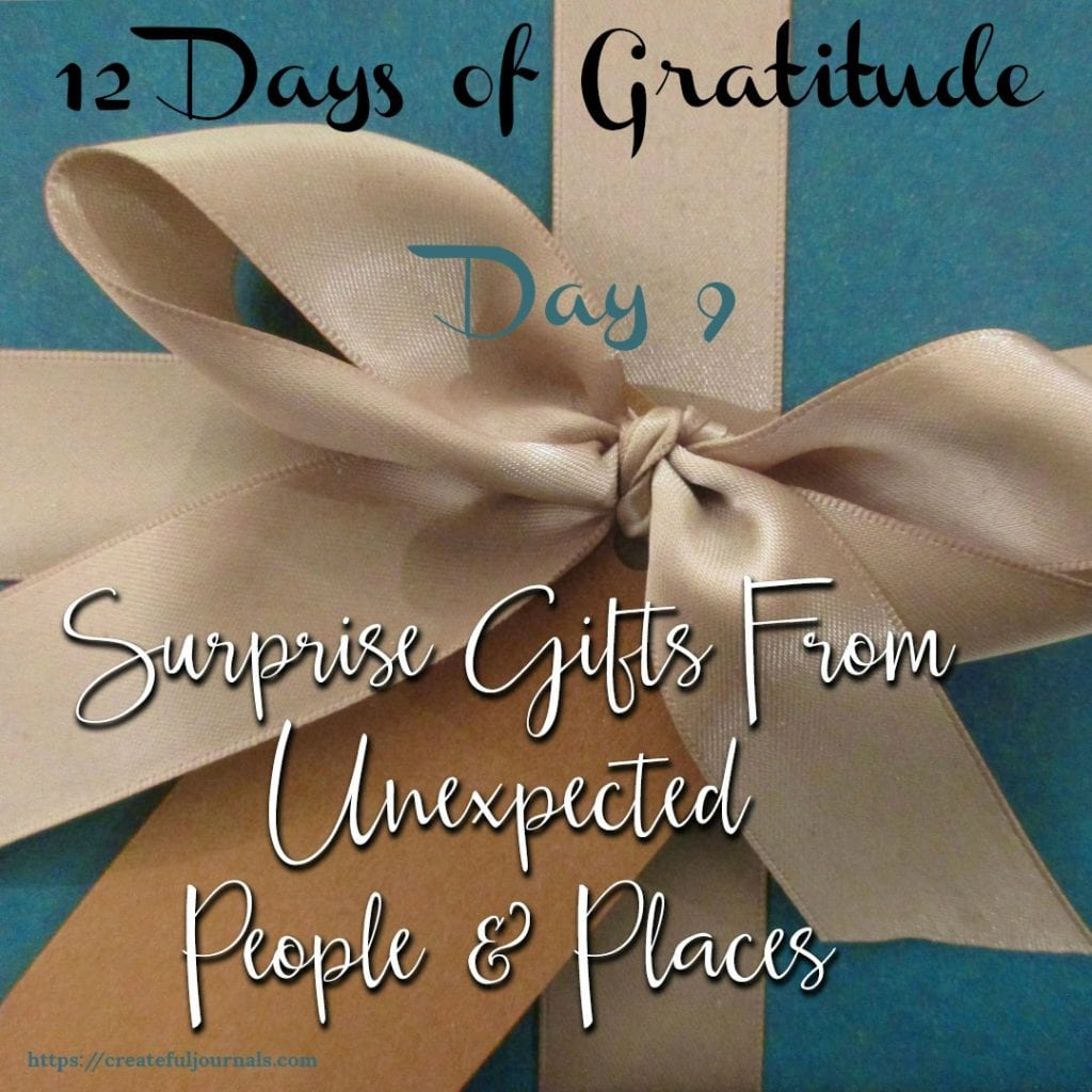 Gratitude surprise gifts