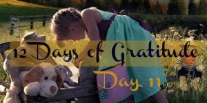 12 Days of Gratitude Day 11 Taking Your Cues From a Child