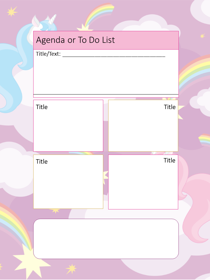 unicorn templates