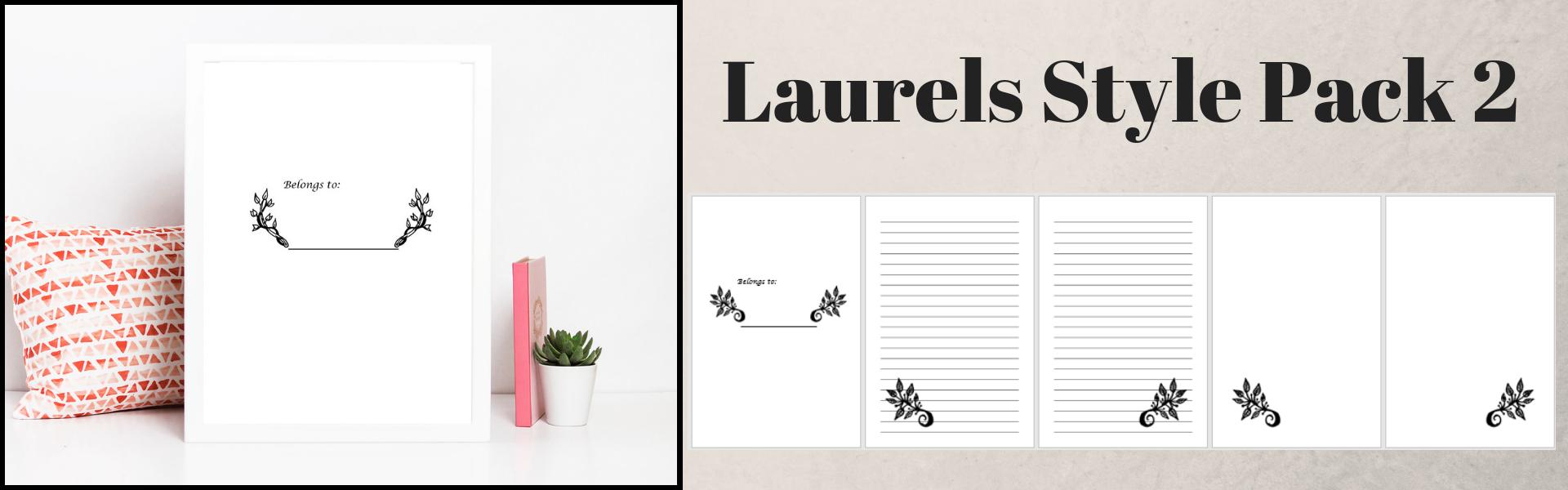 Laurels Style Pack 2