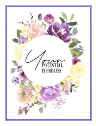 endless possibilities poster, Createful journals