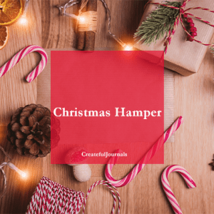 Christmas Hamper, Christmas coloring pages, Christmas planner, Crateful Journals, DownloadableJournals